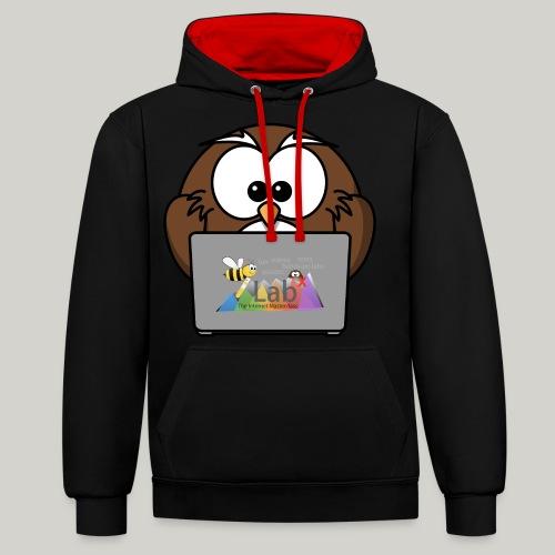 iLab.Owl - Contrast Colour Hoodie