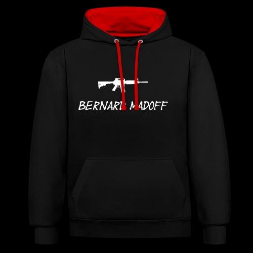 Bernard Madoff - Kontrast-hættetrøje