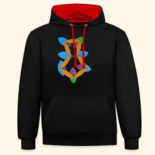 oranjeblanjebleu - Contrast hoodie