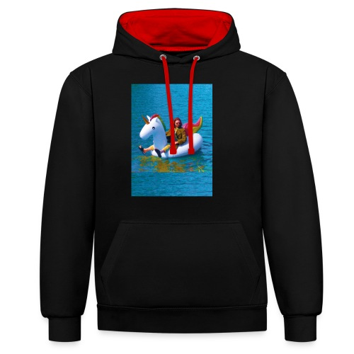 René Unicorn - Contrast hoodie