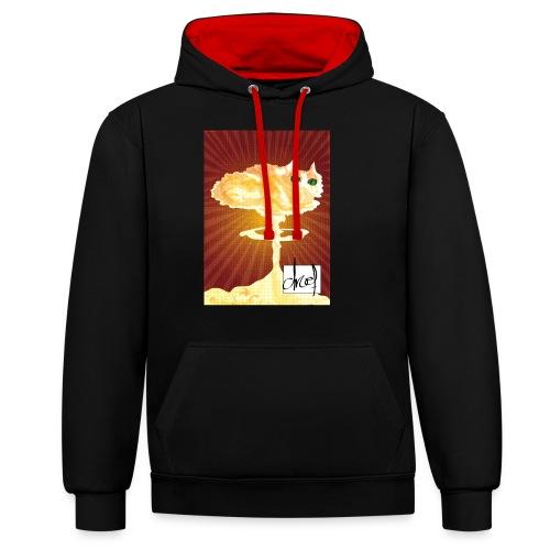 Atoompoes - Contrast hoodie
