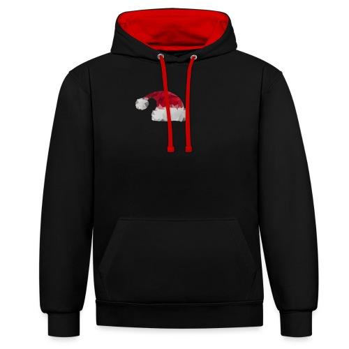 Kerstmuts - Contrast hoodie