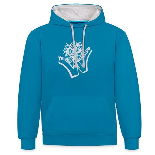 w wahnsinn - Contrast hoodie