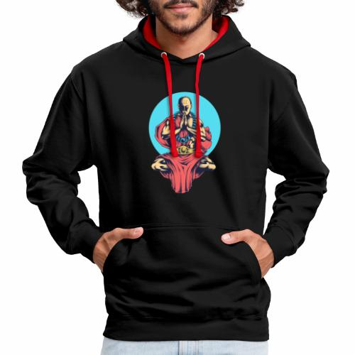 Inner Peace Inner Peace Gift Idea - Contrast Colour Hoodie
