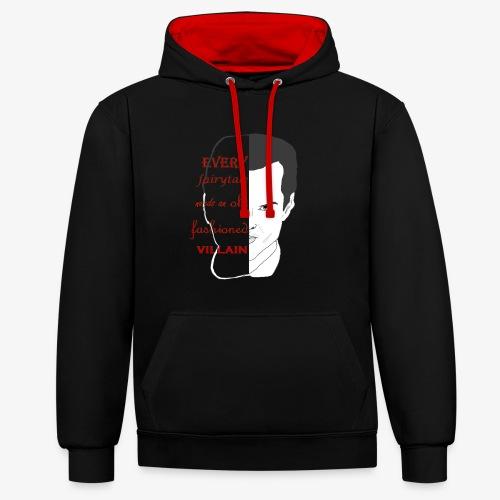 dark side of a fairytale - Contrast hoodie