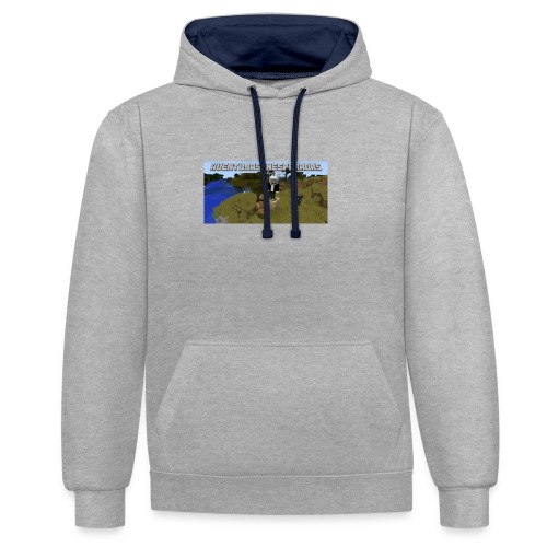 minecraft - Contrast Colour Hoodie