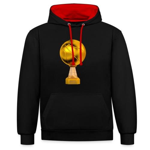 Basketball Golden Trophy - Sweat-shirt contraste
