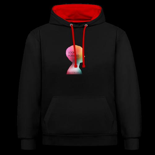 Gwhello - Contrast hoodie