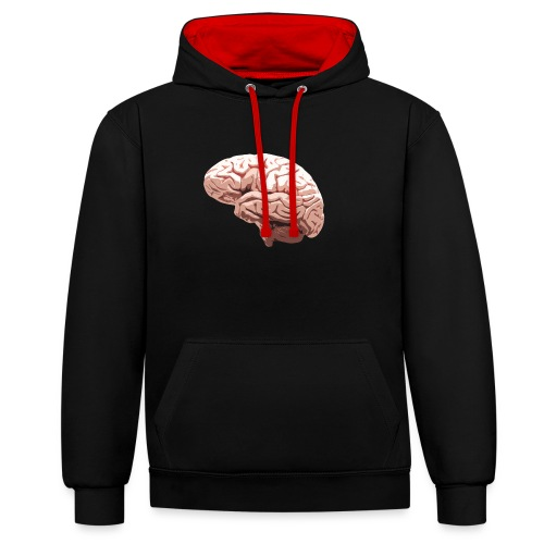 Brain - Sweat-shirt contraste