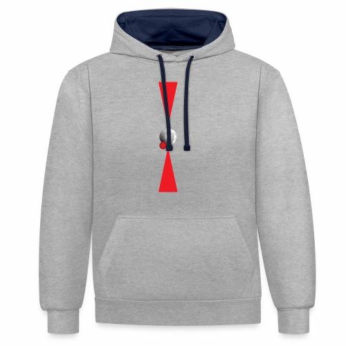 Petanque Minimalisme - Sweat-shirt contraste
