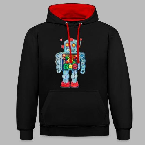 ROBOT - Contrast Colour Hoodie