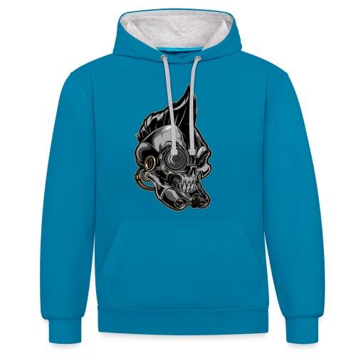 Nareku logo - Contrast Colour Hoodie