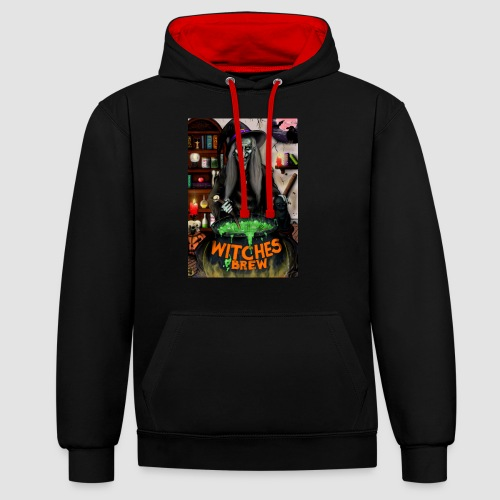 The Witch - Contrast Colour Hoodie