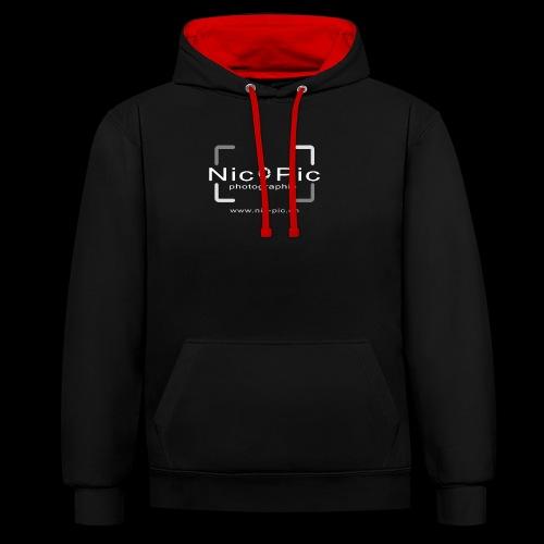 Nic Pic - Kontrast-Hoodie