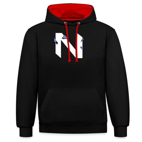nke trans png - Contrast hoodie
