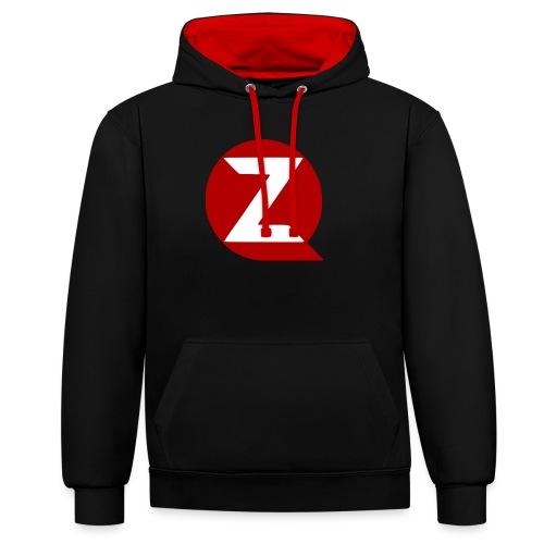 QZ - Contrast Colour Hoodie
