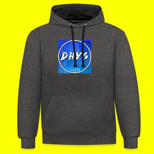 DusHeelVeelgamen New T shirt - Contrast hoodie