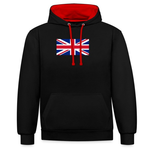 United Kingdom - Contrast Colour Hoodie