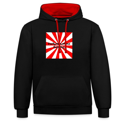 Gaming Logo png - Contrast Colour Hoodie