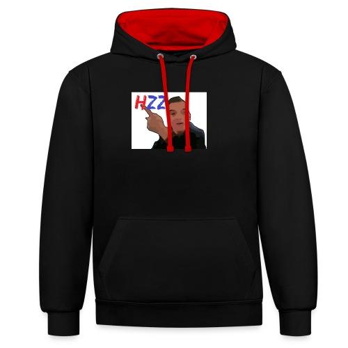 hetzeizo t-shirt vrouw - Contrast hoodie