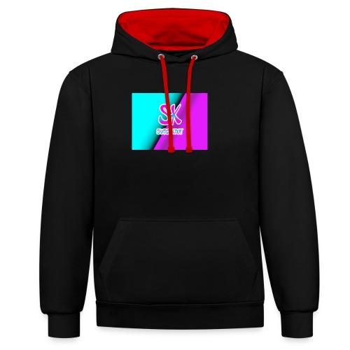 Sk Shirt - Contrast hoodie