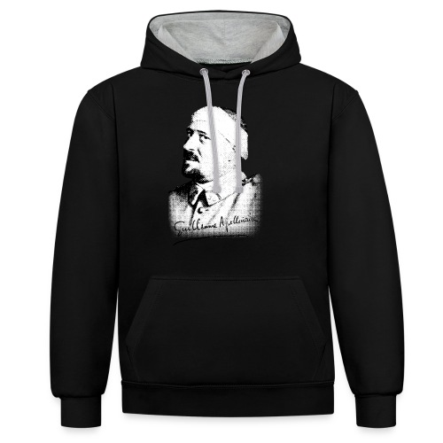 Débardeur Femme - Guillaume Apollinaire - Sweat-shirt contraste