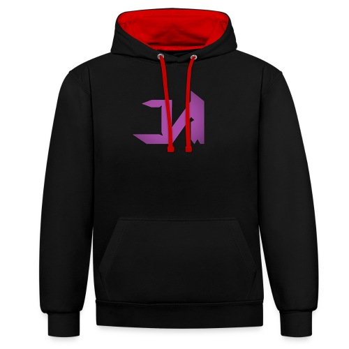 Female J&M Clan T-Shirt - Contrast Colour Hoodie