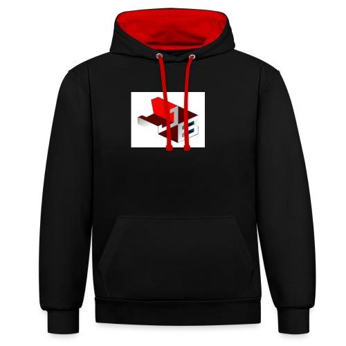 shirt - Contrast hoodie
