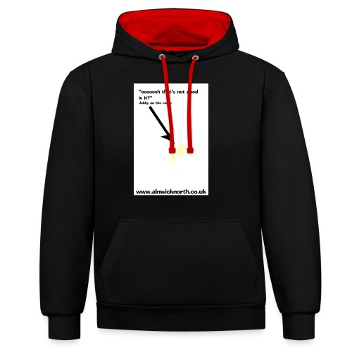 stain - Contrast Colour Hoodie