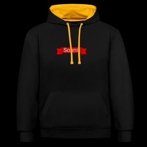 Sonnit Scroll - Contrast Colour Hoodie