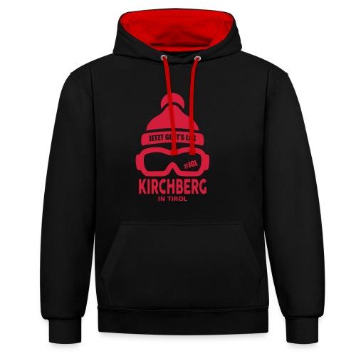 Après-ski Kirchberg - Contrast hoodie
