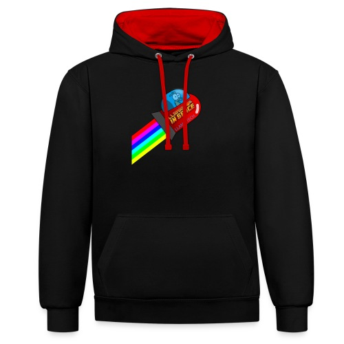 tdsign - Contrast Colour Hoodie