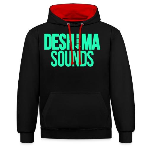 Mint - Contrast hoodie
