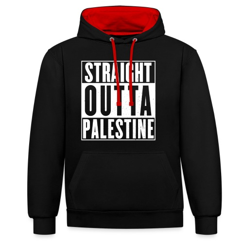 Palestine - Contrast Colour Hoodie