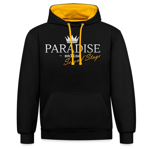 Paradise Online: Second Stage - Contrast hoodie