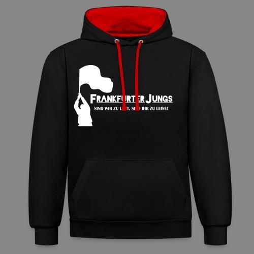frankfurter_jungs - Kontrast-Hoodie
