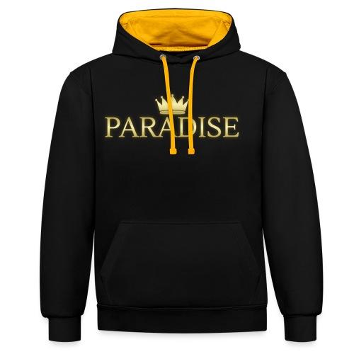 Paradise - Contrast hoodie