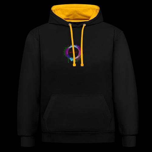 Sonnit Clothing Splash - Contrast Colour Hoodie