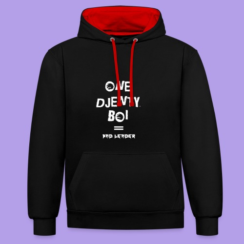 One Djenty Boi - Sweat-shirt contraste