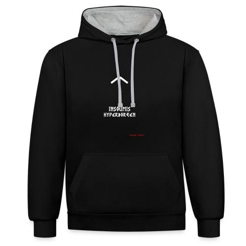 insoumisHyperboréen - Sweat-shirt contraste