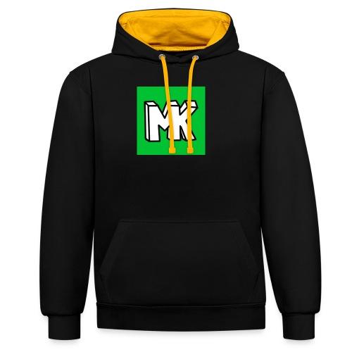 MK - Contrast hoodie