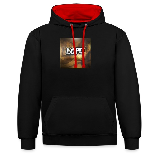 LoPo - Sweat-shirt contraste
