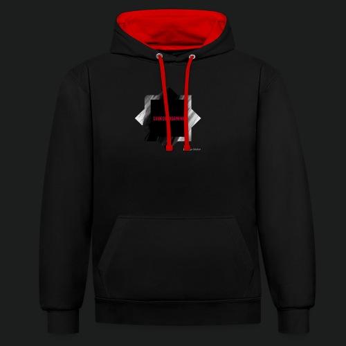 New logo t shirt - Contrast hoodie