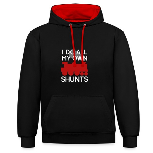 SHUNTSpng - Contrast Colour Hoodie