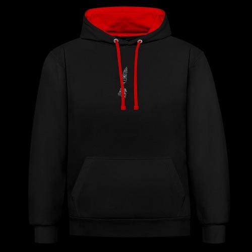 slirky - Contrast hoodie
