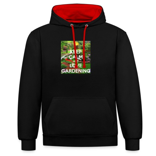 Do not buy for my garden business only copy right - Contrast Colour Hoodie