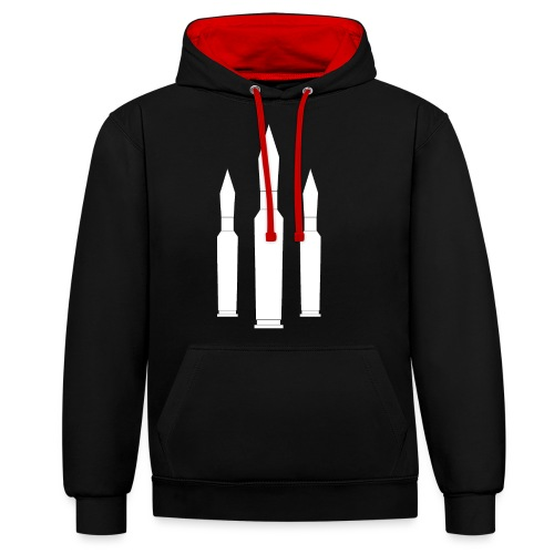 TripleShot - Contrast Colour Hoodie