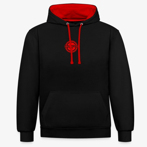 Collipso Large Logo - Contrast Colour Hoodie