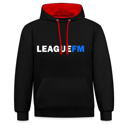 LeagueFM SPECIAL - Contrast hoodie
