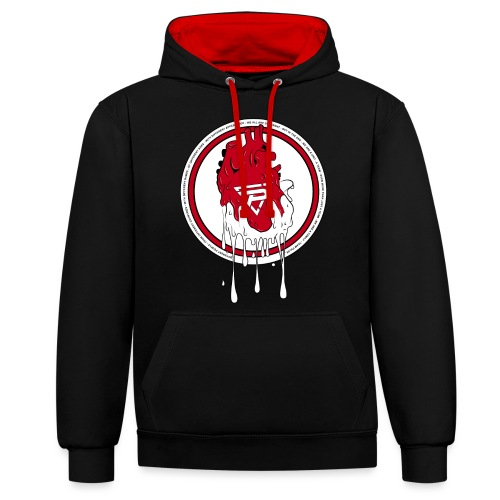 Team Pulse - Same Blood - Contrast Colour Hoodie